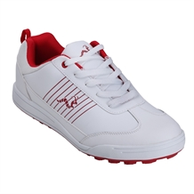 Woodworm Surge Golf Shoes White/Red