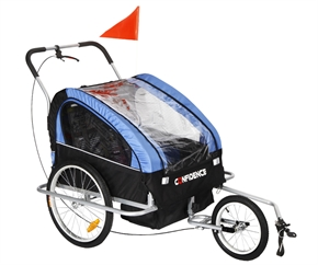 Confidence 2 in 1 Baby Bike Trailer Stroller