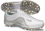 Nike Ace Ladies Golf Shoes White/Grey Plaid