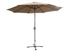 Palm Springs 10ft Aluminium Patio Umbrella w/ Tilt