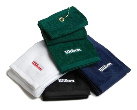 Wilson Golf Tri-Fold Towel 6 Pack