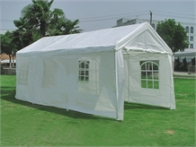OPEN BOX 10' x 20' HEAVY DUTY White Party Tent