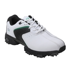 Forgan Golf V3 Leather Golf Shoes White/Black