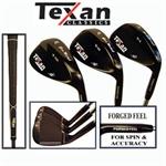 Texan Classics Gun Metal Wedge Set 52-56-60