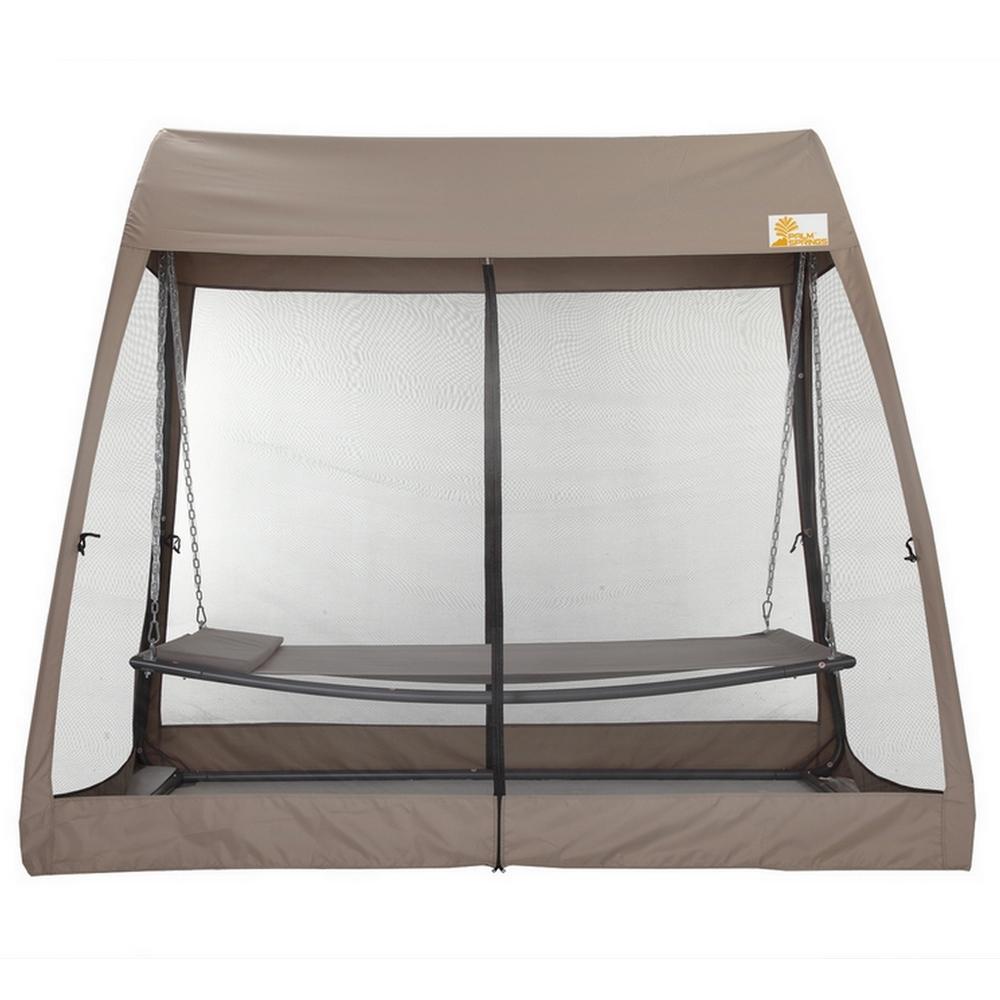 Palm Springs Garden Hammock Set Outdoor Swing Bed W Mesh