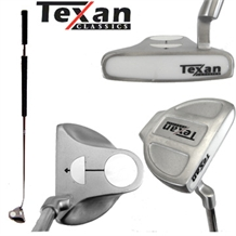 Texan Classics White Ball BELLY Long Putter
