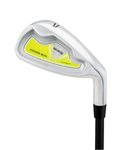 Young Gun SGS Junior Single Irons Yellow Ages 3-5