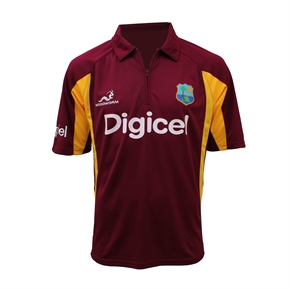 West Indies ODI One Day Replica Shirt JUNIORS