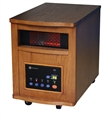 Homegear Deluxe 1500W Infrared Quartz Heater Oak