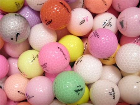 24 Lady Crystal Optic - Grade AAA Golf Balls