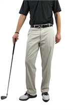 Palm Springs DryFit Flat Front Golf Pants CREAM