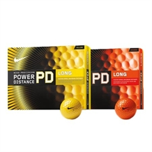 Nike Power Distance 12pk Color Ball Custom Text